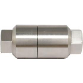 """F-704S-AL (aluminium) filtr ceramiczny z wejściem 1/4 """" i wyjściem 1/4"""""""